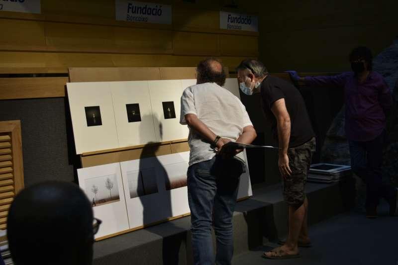 Exposición de las fotografías. EPDA.