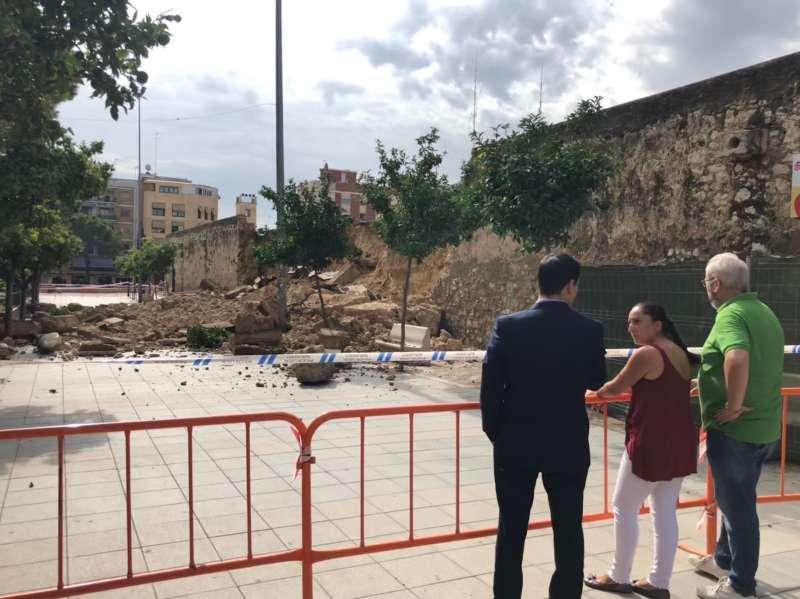 Subiela y otros concejales de Ciudadanos en Los Silos. EPDA