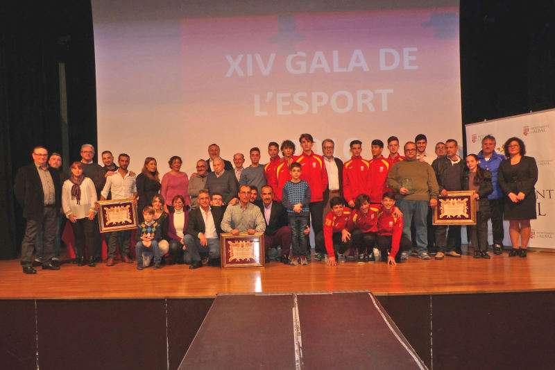 Gala del Deporte en Albal. EPDA