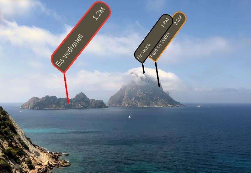 Imagen del detalle que muestra la novedosa aplicación ShoreView. EFE/ShoreView