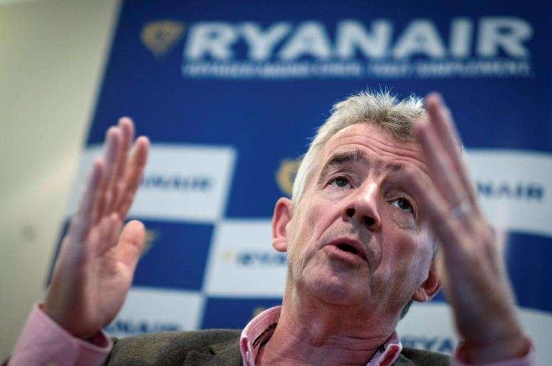 El consejero delegado de la aerolínea irlandesa Ryanair, Michael O
