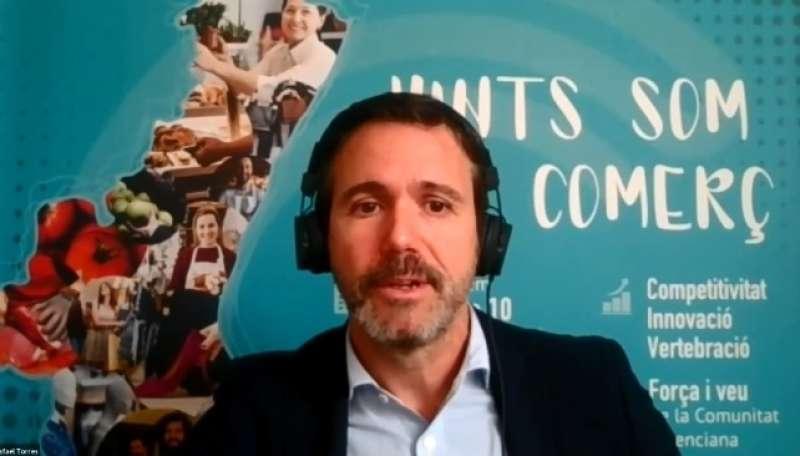 El presidente de Confecomerç CV, Rafael Torres. EPDA
