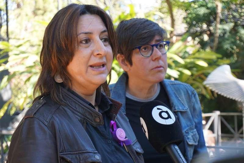 Rosa Pérez Garijo i Pilar Lima. EPDA