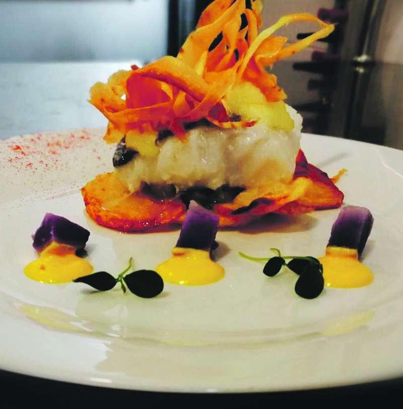 Creación culinaria del Gastrobar Anavi. EPDA