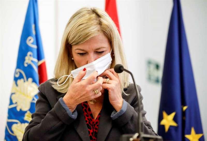 La consellera de Justicia, Interior y Administración Pública, Gabriela Bravo. EFE/Ana Escobar/Archivo