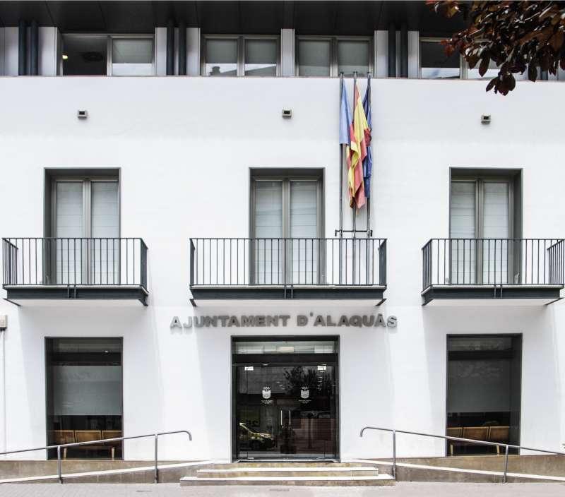 Fachada de Ayuntamiento Alaquás