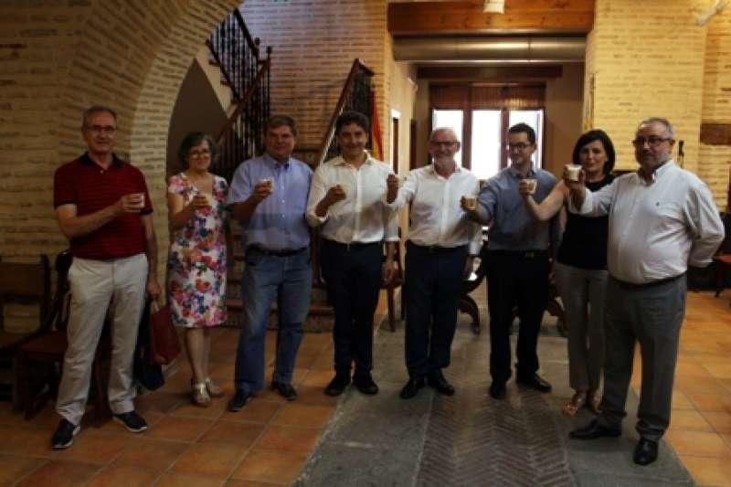 Visita de Colomer a Alboraya. EPDA