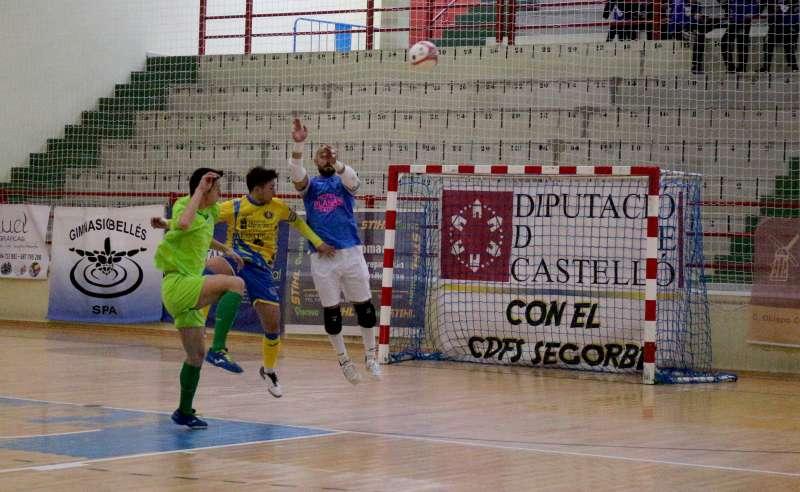 Partido igualado con victoria visitante 6-7