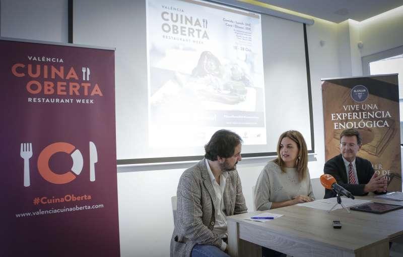 Momento de la presentación de Cuina Oberta
