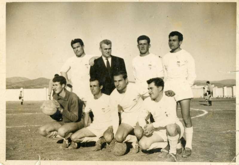 Joaquín Cerverón, en su etapa de futbolista. EPDA