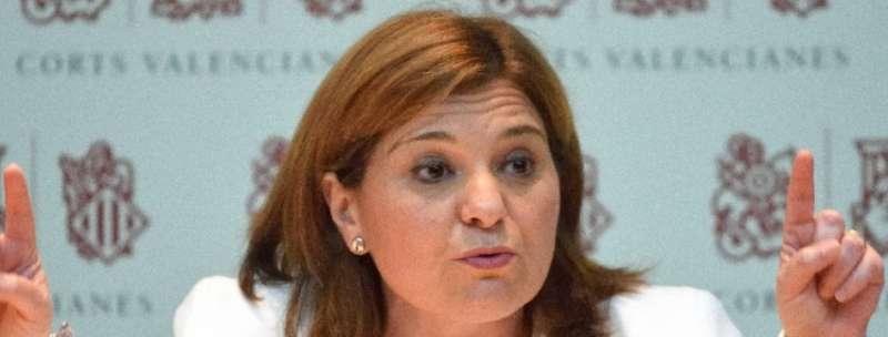 La Presidenta del Partido Popular de la Comunitat Valenciana, Isabel Bonig. EPDA