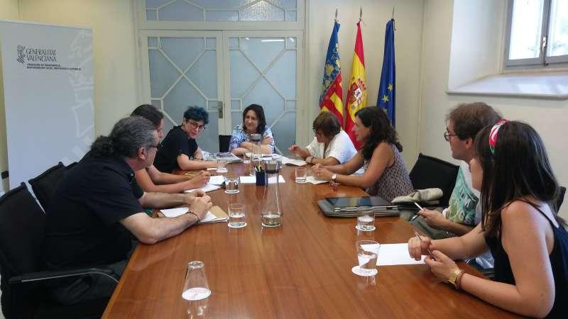 La consellera de Participació, Transparència, Cooperació i Qualitat Democràtica, Rosa Pérez Garijo. GVA