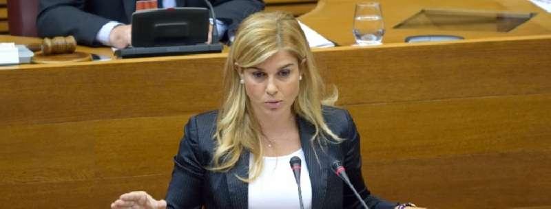 La secretaria general del Partido Popular de la Comunitat Valenciana, Eva Ortiz