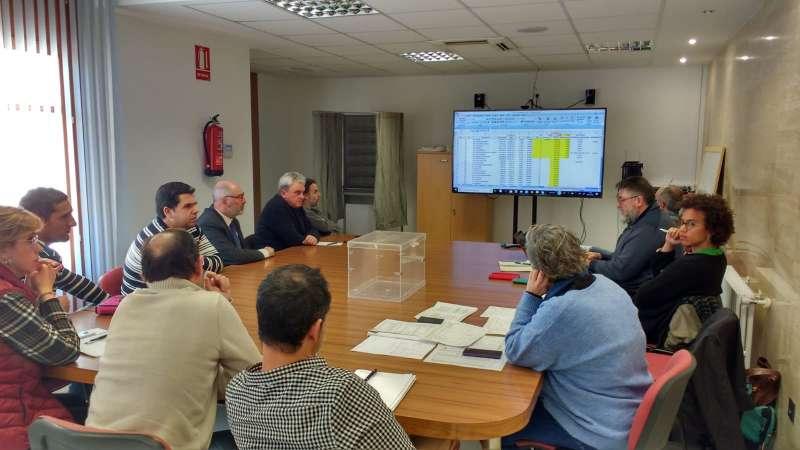 Reunión equipo energetico del Ayuntamiento de Utiel