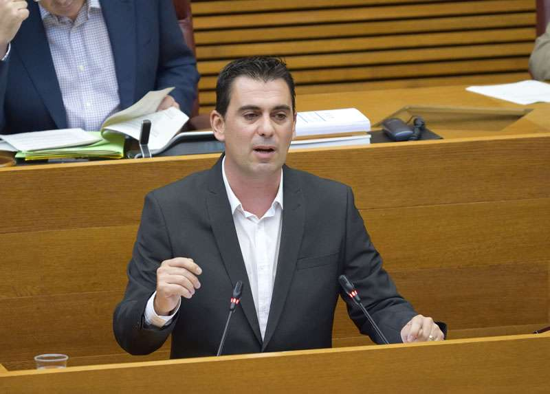 Toni Subiela, diputado de Ciudadanos (Cs) en Les Corts valencianes