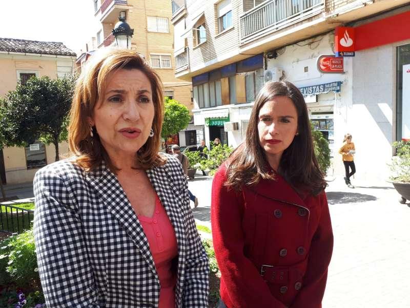 Belén Hoyo y María Villajos
