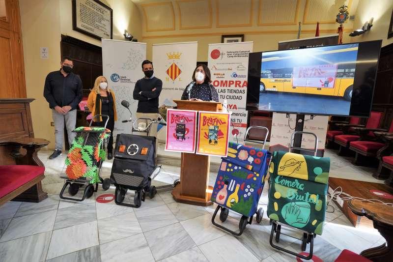 Presentación de la campaña ante los medios de comunicación. Foto: Paco Quiles