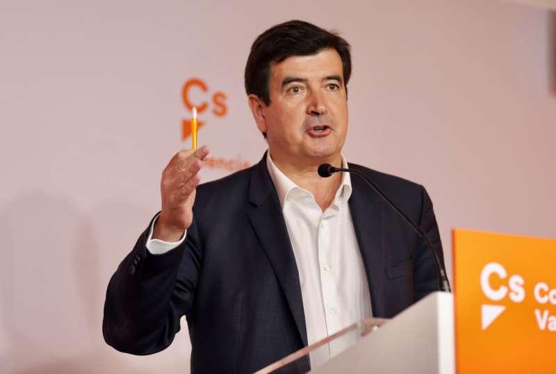 El portavoz de Cs en el Ayuntamiento de València, Fernando Giner. EPDA