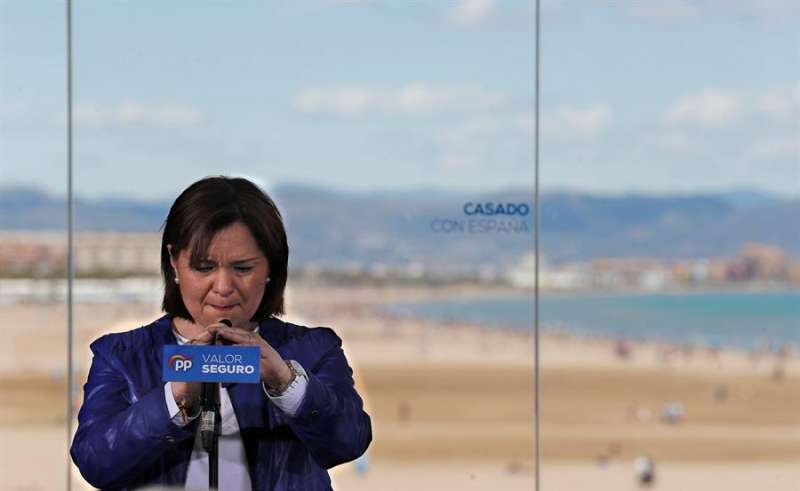 La presidenta del PPCV, Isabel Bonig. EFE/Archivo Manuel Bruque