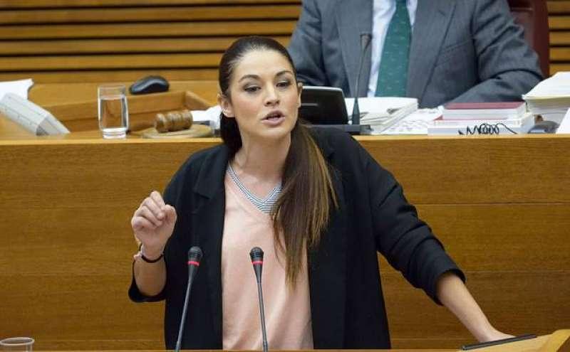 La portaveu adjunta del grup parlamentari Compromís, Mireia Mollà