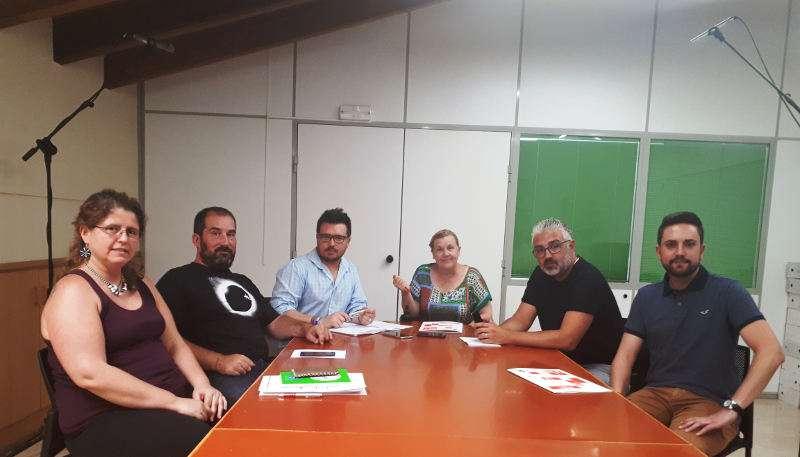 Mesa de Participación Ciudadana de los Presupuestos Municipales 2018 de Paterna. EPDA