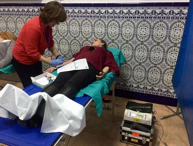 Tercera donación de sangre de esta comisión fallera de Puerto de Sagunto.