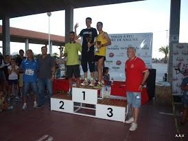 Entrega de premios en la 46ª Volta a Peu de Port de Sagunt. Foto: EPDA.