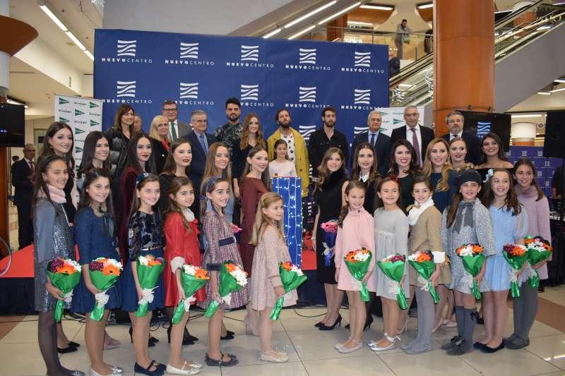 Inauguración del encendido navideño de Nuevo Centro y El Corte Inglés.