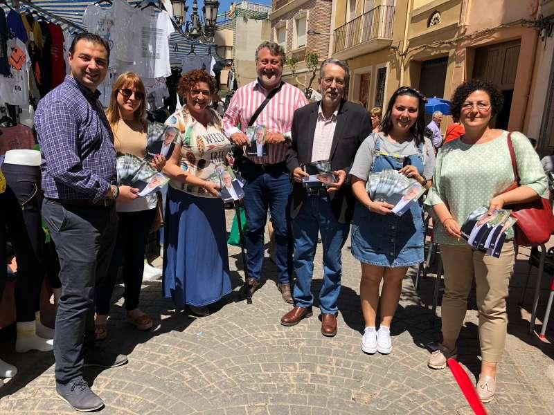 Ramón Marí en el mercado