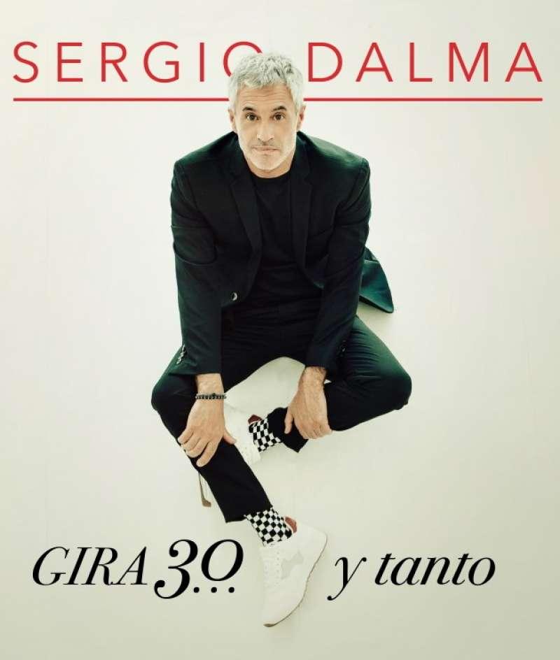 Cartel Oficial de la gira de Sergio Dalma,