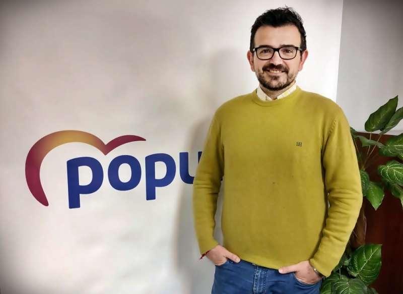 El portavoz del Partido Popular de Mislata Jaime López Bronchud. EPDA