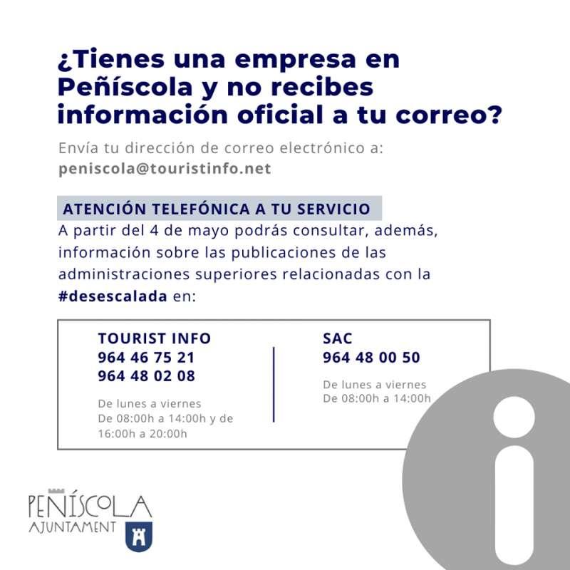 Ayuda empresa y autónomos Peñíscola