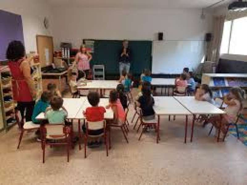 Imagen de archivo centro educativo en Albal. EPDA