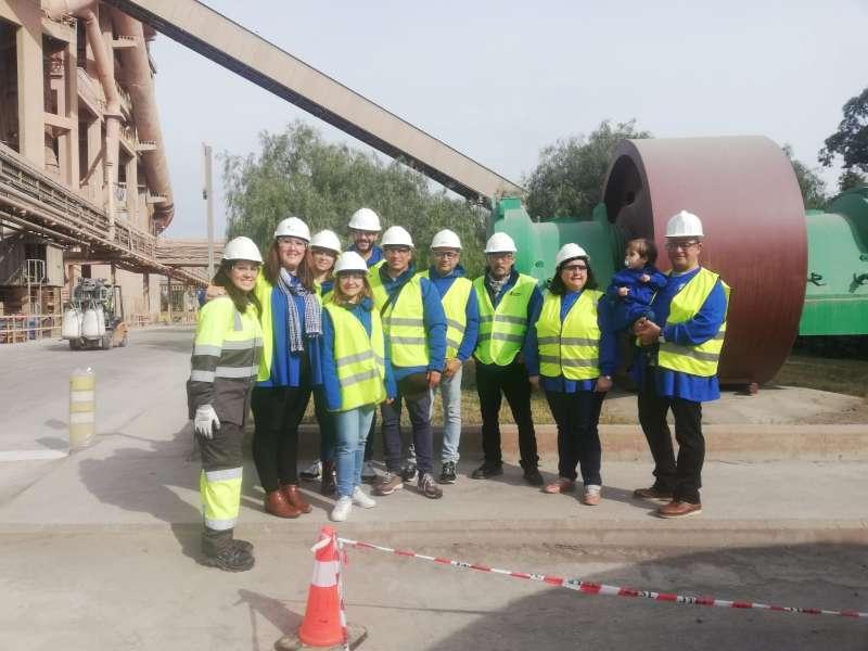 Visita a la planta Lafarge Sagunt. EPDA