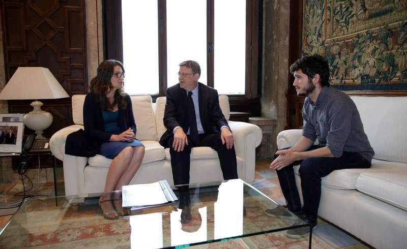 El nuevo secretario general de Podem, Antonio Estañ.