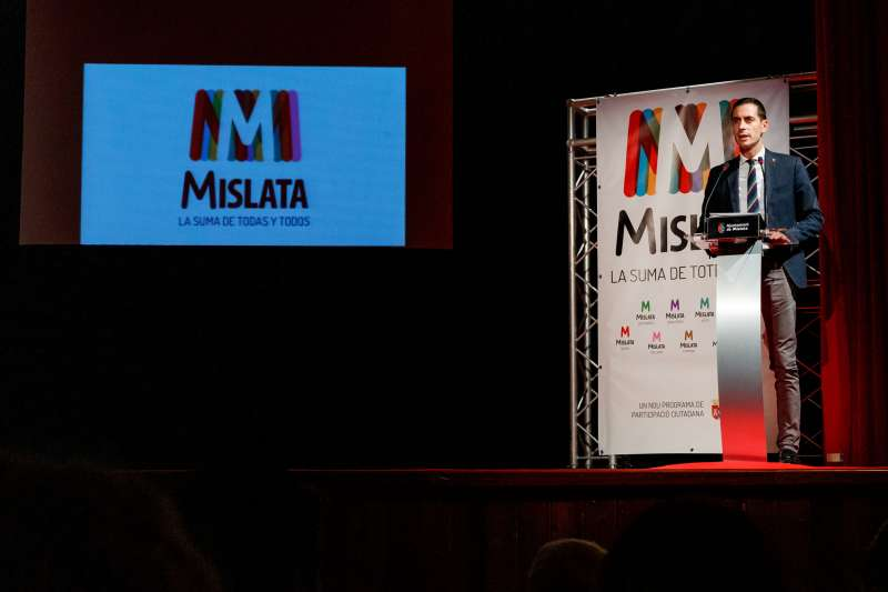 Carlos Bielsa, alcalde de Mislata.