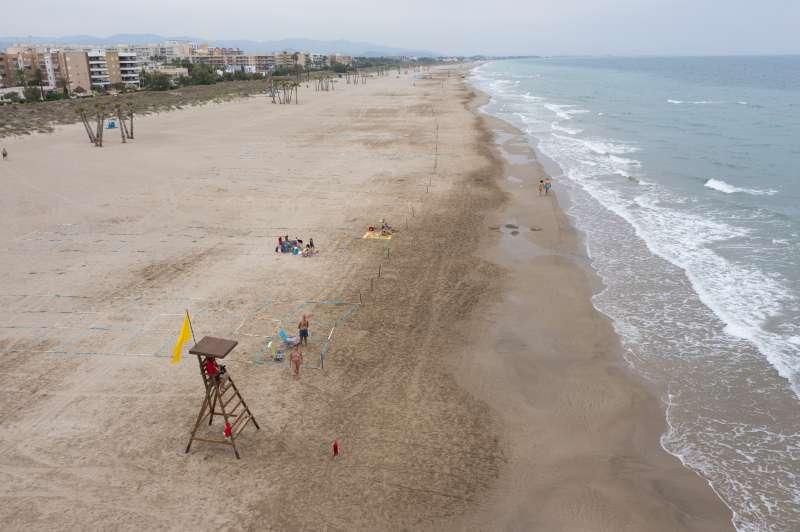 Parcelación playas. / EPDA