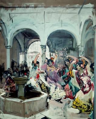 Una de las obras que se pueden encontrar en la Exposición
