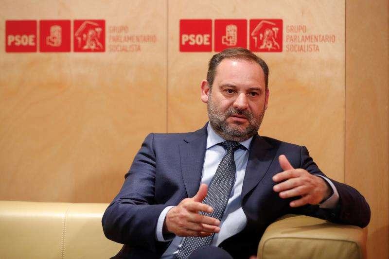 El secretario de Organización del PSOE, José Luis Ábalos. EFE/Archivo