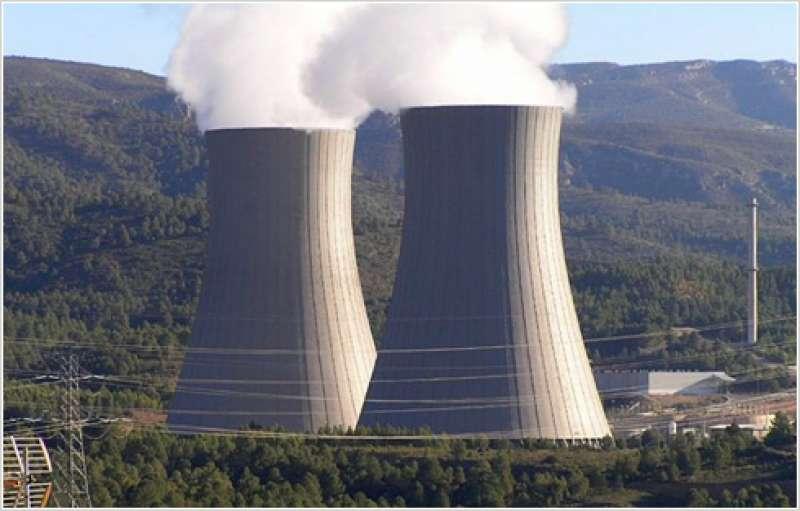 Panorámica de la nuclear de Cofrentes