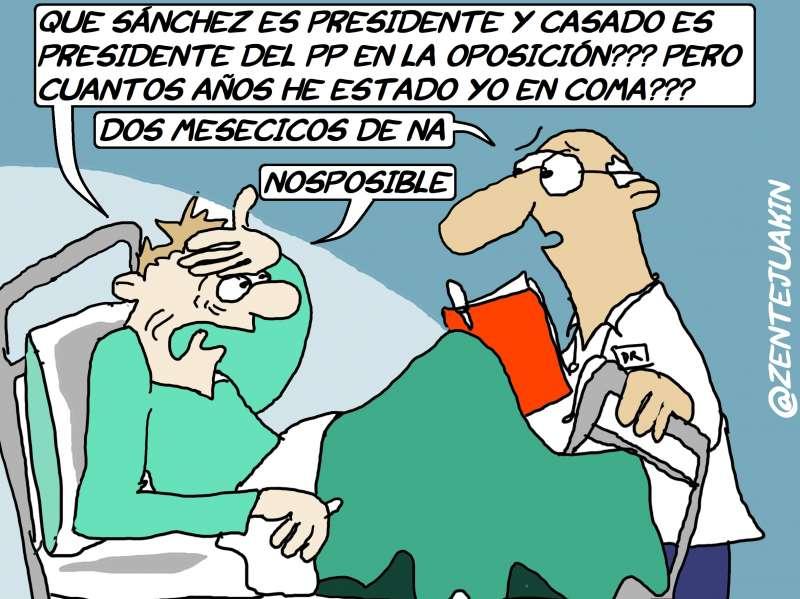 Viñeta publicada en www.El PeriodicodeAqui.com