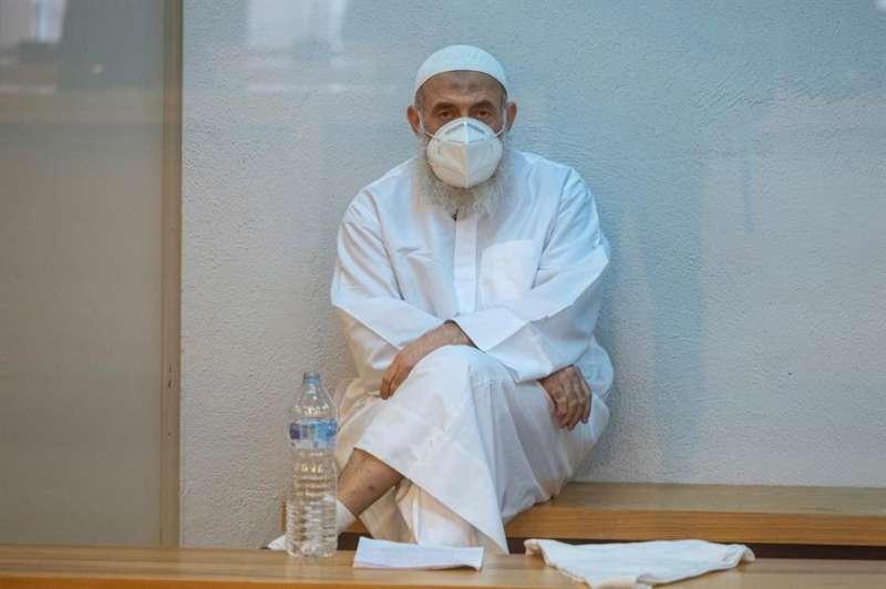 El acusado egipcio Hesham F. M. S. asiste a la primera sesión de su juicio en la Audiencia Naciona. EFE