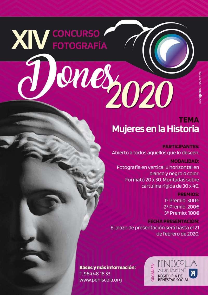 Cartel Fotografía Dona 2020. EPDA
