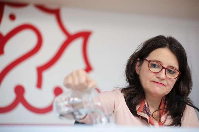 La vicepresidenta y portavoz del Consell y dirigente de Compromís, Mónica Oltra. EFE/Ana Escobar/Archivo