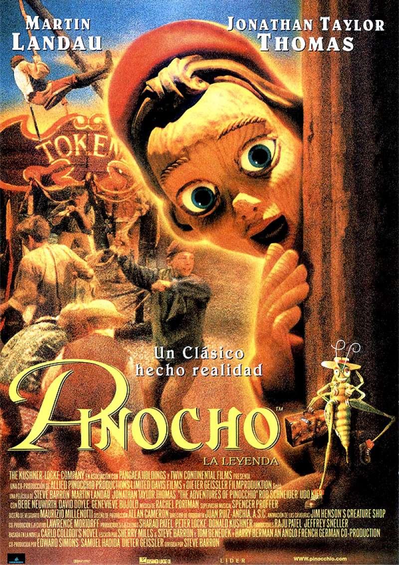 Cartel de Pinocho. EPDA.
