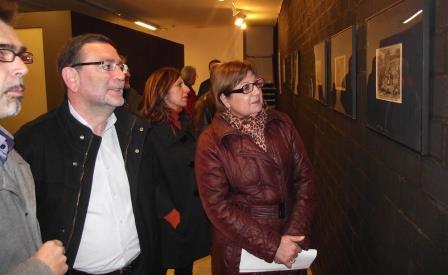 Soledad Ramón en su visita al museo. Foto: EPDA.