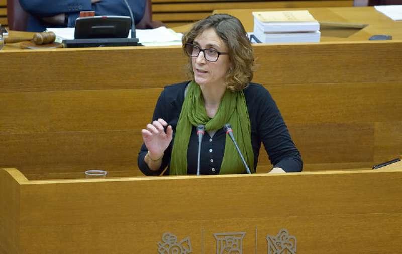 La diputada de Compromís, Cristina Rodríguez