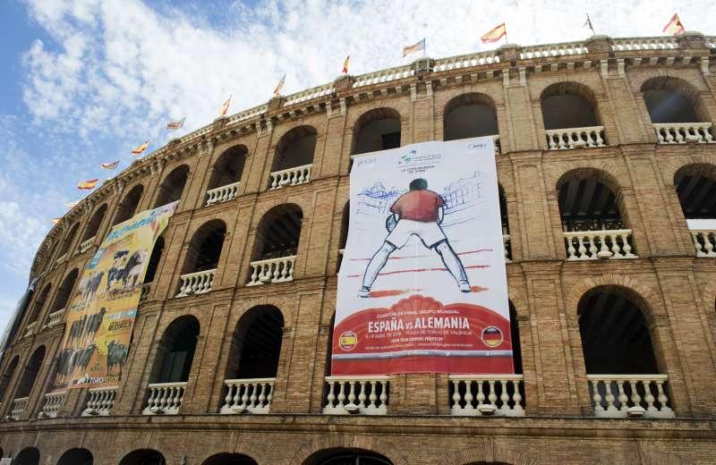 Copa Davis en Plaza de Toros