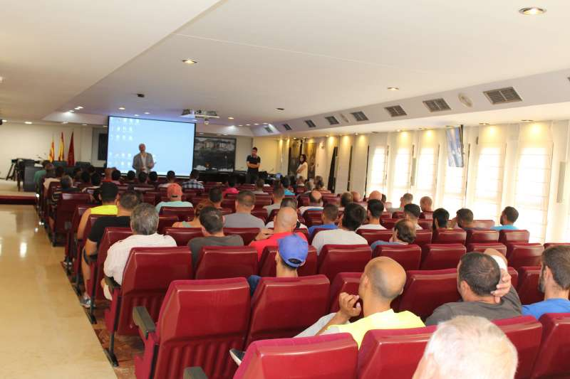 Presentació de les 72 persones de les brigades del SEPE. EPDA