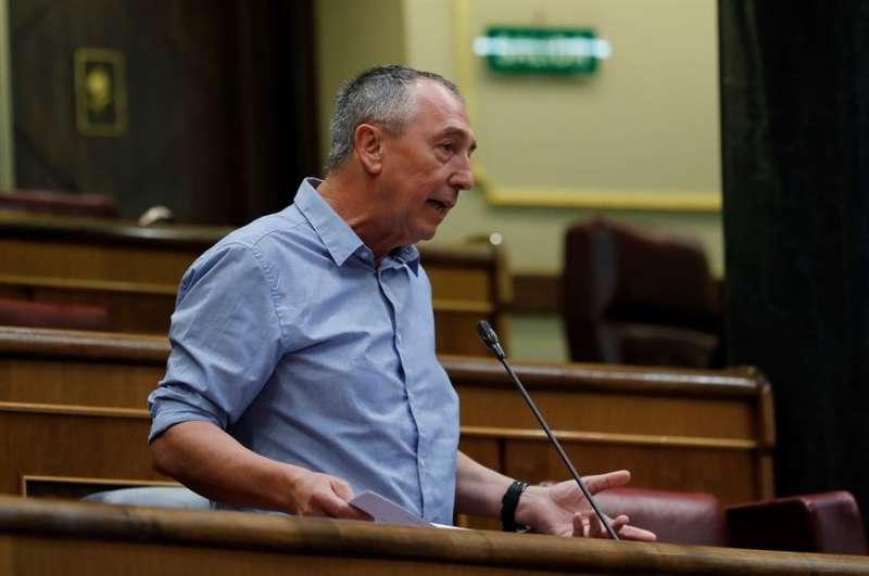 El diputado de Compromís Joan Baldoví. EFE